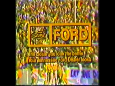 1979 Johnny Majors Show Intro
