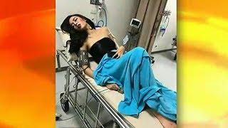 ความเจ็บที่ดูแพง! แชร์ว่อน ภาพผู้ประกวด MUT พลาดล้มบนเวทีขณะโชว์ชุดว่ายน้ำ นอนรอแพทย์ตรวจ