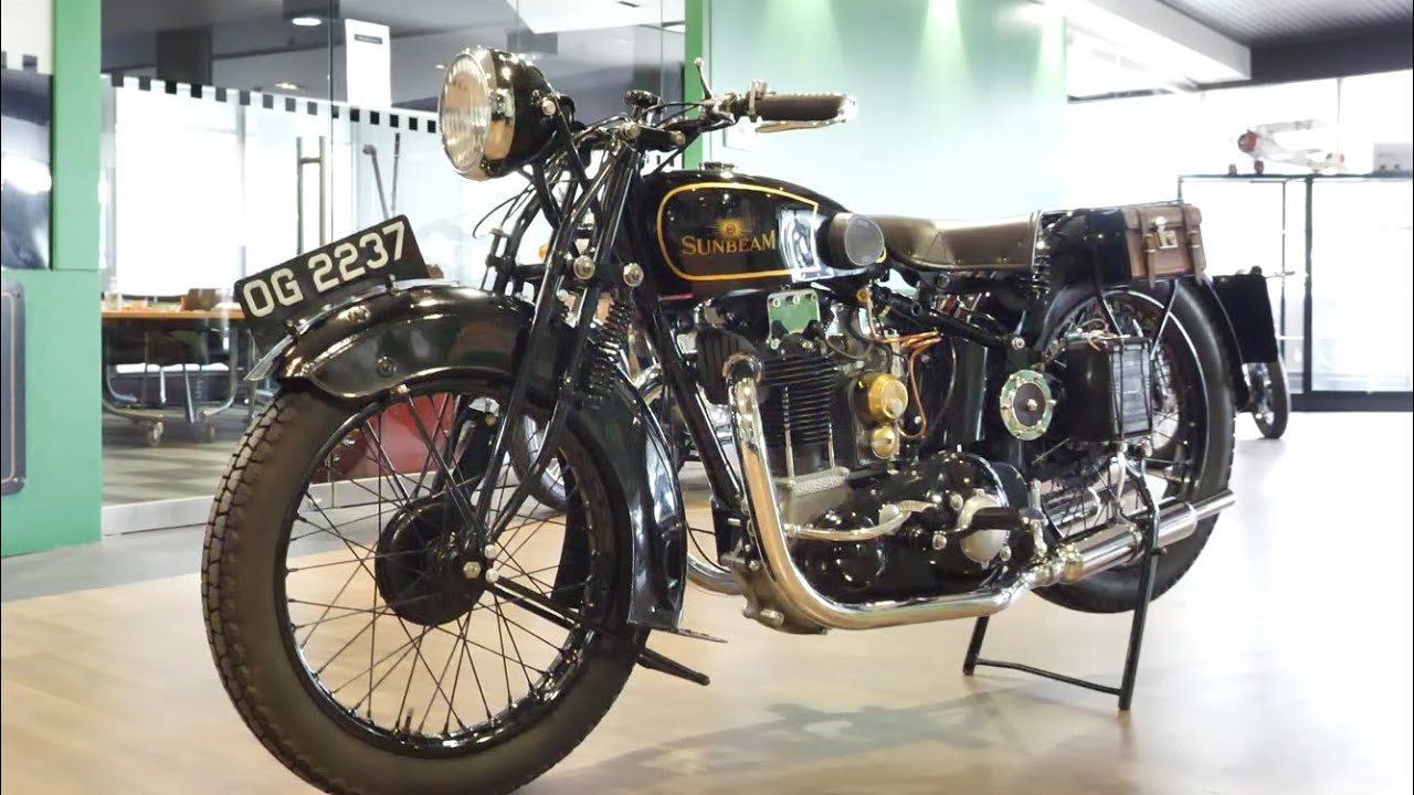 1930 Sunbeam Model 9 500cc Motorcycle - 2020 Shannons Winter Timed Online Auction