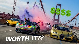 Spending $22,000 Dollars on an Exotic Car Rally