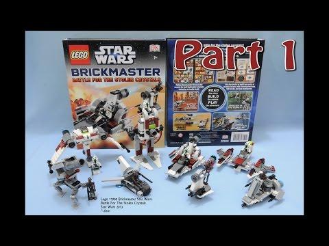 Lego Star Wars Brickmaster Battle For The Stolen Crystals Build