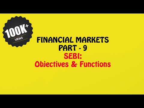 SEBI - Objectives & Functions, Financial Markets Part - 8, Prince Academy, 12th Business Studies