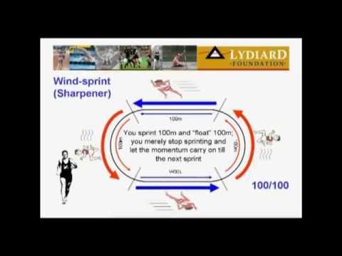 Arthur Lydiard explaining windsprints ( 5050 )