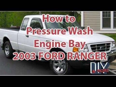 Diy How To Pressure Wash Engine Bay Clean Engine Ford