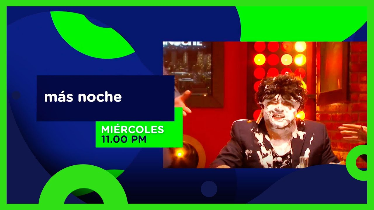 Más Noche: Somos originales | Miércoles, 11:00 PM | Distrito Comedia