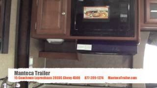 15 Coachmen Leprechaun 280DS Chevy 4500 Motorhome C