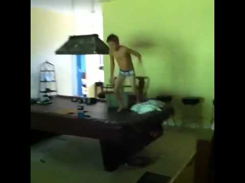 Flying Kid In Tidy Whities!! - YouTube