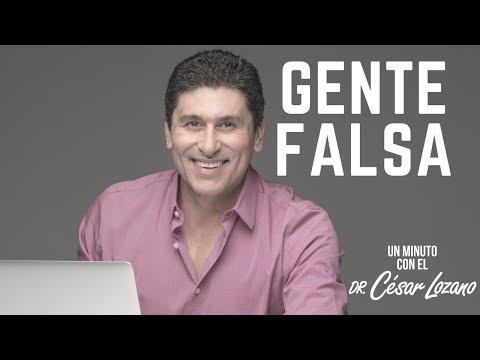 C�mo identificar a una persona falsa - Un minuto con el Dr. C�sar Lozano