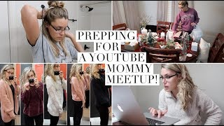 PREPPING FOR THE YOUTUBE MOMS MEETUP IN SAVANNAH | DITL OF A YOUTUBE MOM
