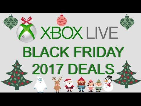 Xbox Live Black Friday 2017 Deals