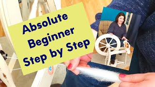 How To Spin Yarn On A Spinning Wheel the First Time