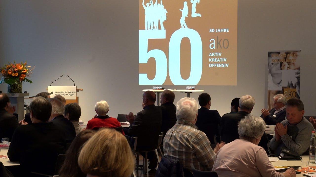 """50 Jahre ako - Jubiläumsfeier im Rahmen des """"Tags der Verbände 2020"""""""