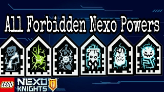 ALL FORBIDDEN NEXO POWERS AVAILABLE (2017)