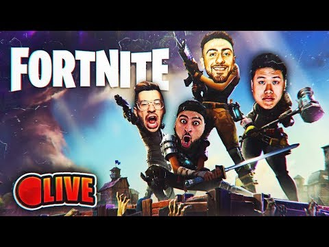 PLAYING FORTNITE LIVE WITH THE BOYS! IMPULSE GRENADE KILLS LIKE CRAZY!
