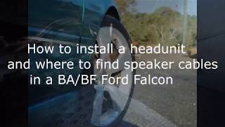 Aftermarket Head Unit Ba Falcon