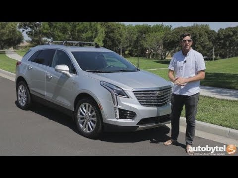 2017 Cadillac Xt5 Platinum Awd Test Drive Video Review Youtube