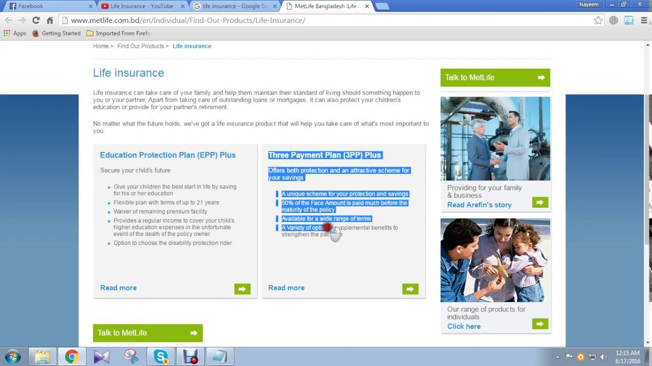 Metlife Life Insurance >> Metlife Insurance Company In Bd