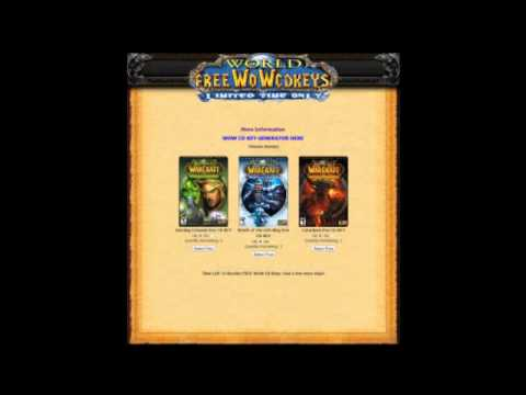 Free WoW Cd Keys