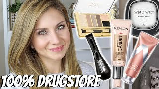 Chatty GRWM Using New Makeup from Drugstore