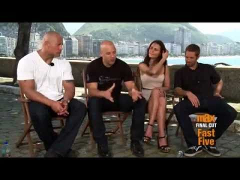 Fast Five interview by Cinemax (Part 1)