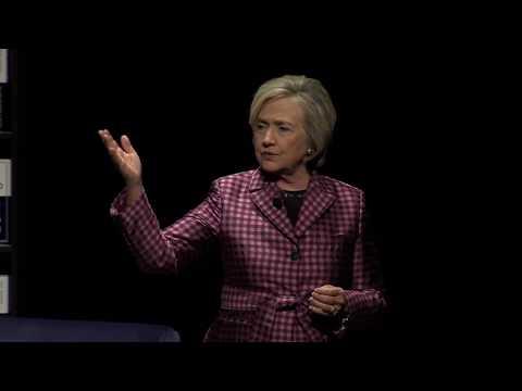 Hillary Rodham Clinton speaks at UC Davis Mondavi Center