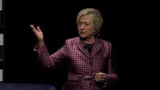 Hillary Rodham Clinton speaks at UC Davis Mondavi Center thumbnail