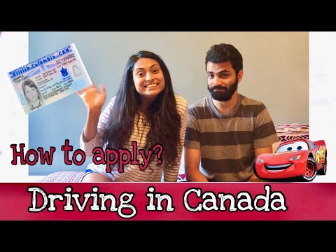 How to get a driver's license in Canada - BC | Driving test in Canada