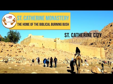 Wanderful: St. Catherine Monastery   St. Catherine City, Sinai Peninsula   Egypt