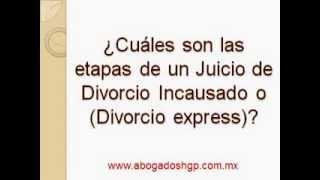 Video Divorcio Incausado o Divorcio Expréss CDMX y Edomex download MP3, 3GP, MP4, WEBM, AVI, FLV November 2017