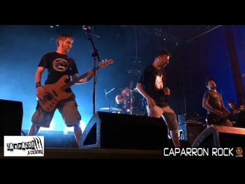 ZARPAZO A CICATRIZ - CAPARRON ROCK 2016