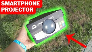 DIY Best Projector for Iphone & Android Smartphone 4K