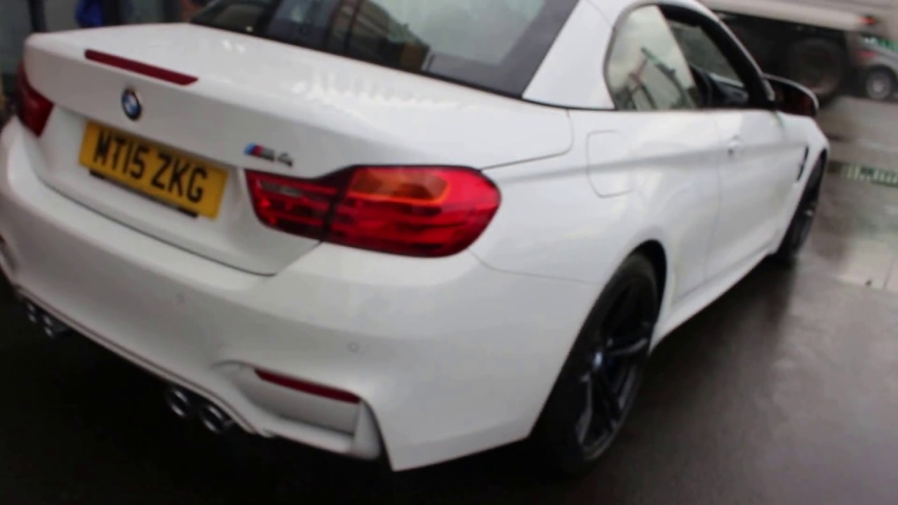 Bmw M4 Convertible Finished In Alpine White At Rix Motor Company