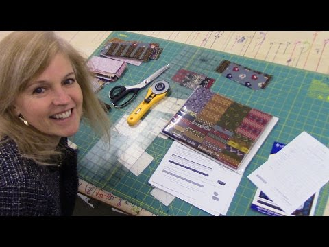 Daybreak Quilt Pattern using a Strip Set | Let'sMake Quilting Tutorial