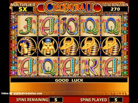 Video Cleopatra slots online free play