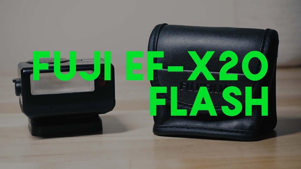 Fuji EF-X20 Flash (X100F Companion)