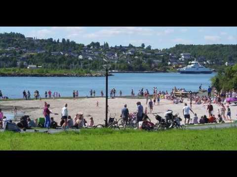 Røstad strand Levanger 2016