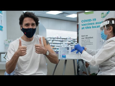 Trudeau says he'll get second dose of AstraZeneca in 'coming weeks'   COVID-19 in Canada