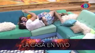 Madrugada 14 08 Pato Y Yasmila En El Sillon Gran Hermano 2016