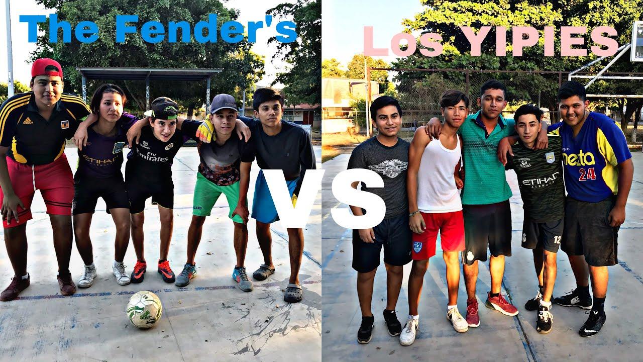 Download RETAS DE FUTBOL (The Fender's vs Los YIPIES) Miren el resultado⚽️