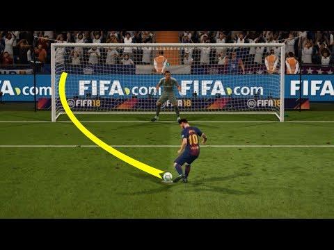 FIFA 18 | Real Madrid vs FC Barcelona (El Clásico Penalty Shootout) HD