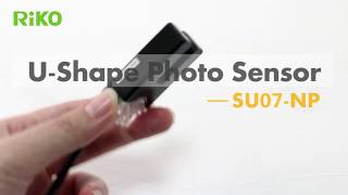 RiKO U型光電開關-「SU07」標籤貼紙檢測│U-shape Photo Sensor & label / sticker