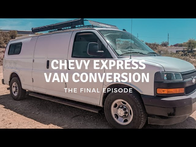 Utilities In A Van Converison | Water and Electricity | The Final Episode of