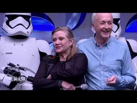 Oscar Isaac: Leia's Star Wars farewell is beautiful | Daily Celebrity News | Splash TV