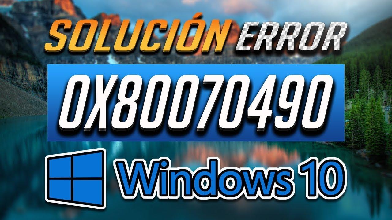 Error Windows Update 0x80070490 en Windows 10 - 「3 Soluciones!」2019