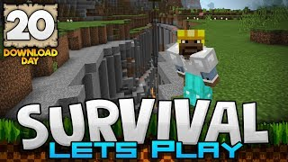 One of JackFrostMiner's most viewed videos: EXPLORING A RAVINE!!! - Survival Let's Play Ep. 20 (DD) - Minecraft 1.2 (PE W10 XB1)