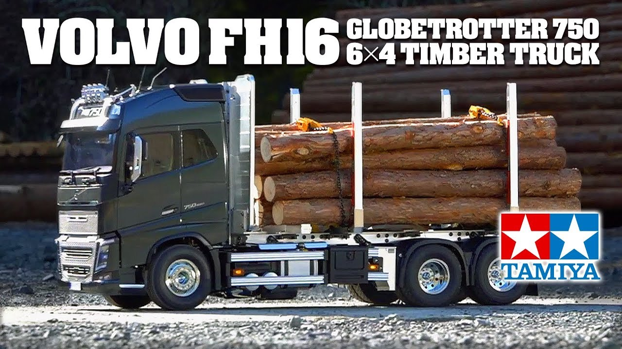 tamiya 1 14 r c volvo fh16 globetrotter 750 6x4 timber. Black Bedroom Furniture Sets. Home Design Ideas