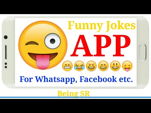Best Funny Jokes App For Whatsapp, Facebook Etc.