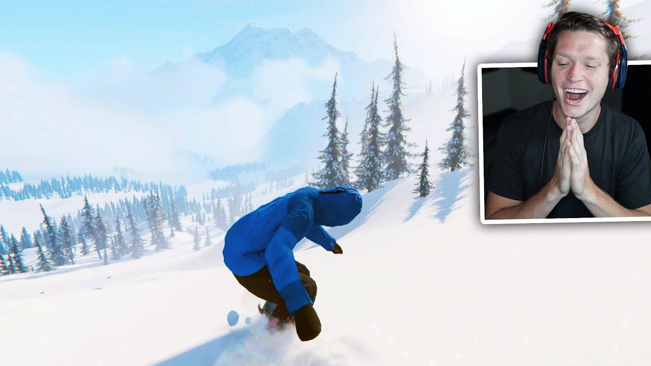 Next Gen Snowboarding Game in 2021 (Xbox Series X Gameplay)