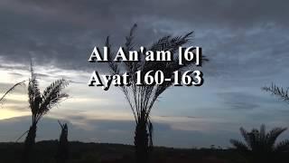 Suara indah Muzammil Hasballah saat melantunkan Surah Al Anam160-163