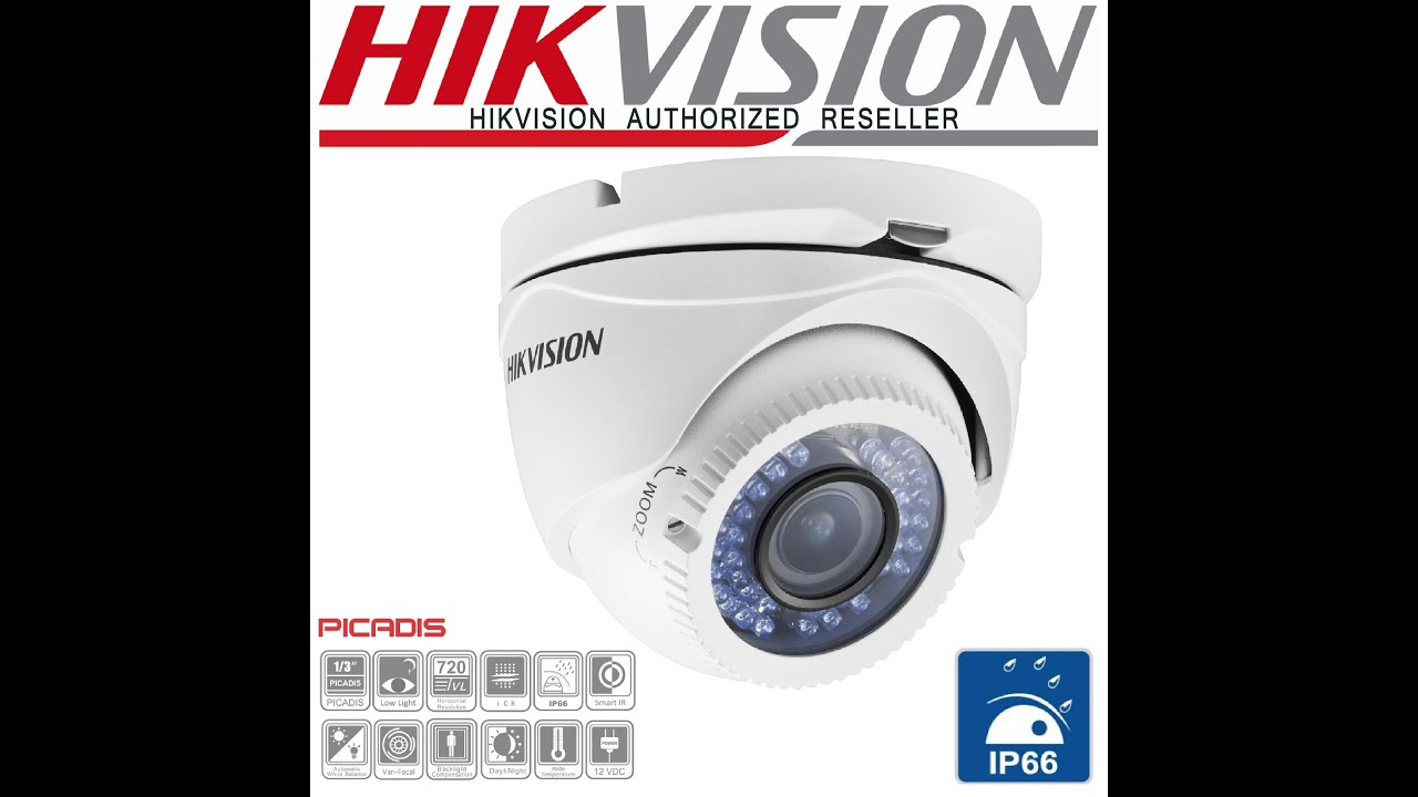 Hikvision DS-2CE55C2P VFIR3 IR Turrent Dome Camera